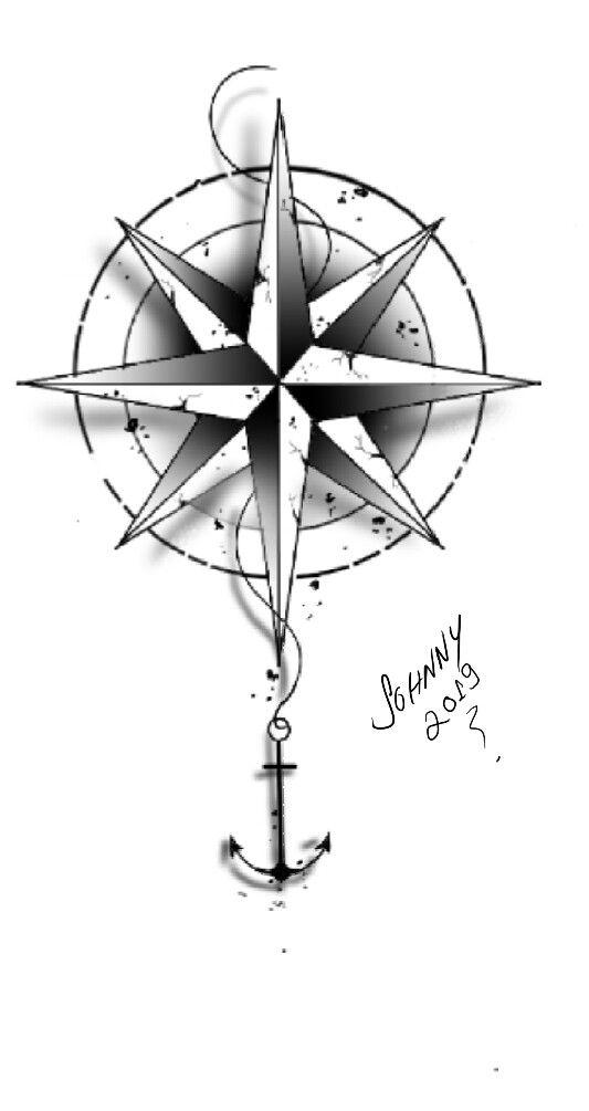 Rosa dos ventos , desenhos tattoo