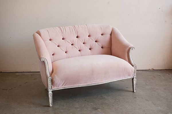 Perfect 11 Room Changing Blush Colored Chairs. Pink SetteePink SofaPink ...