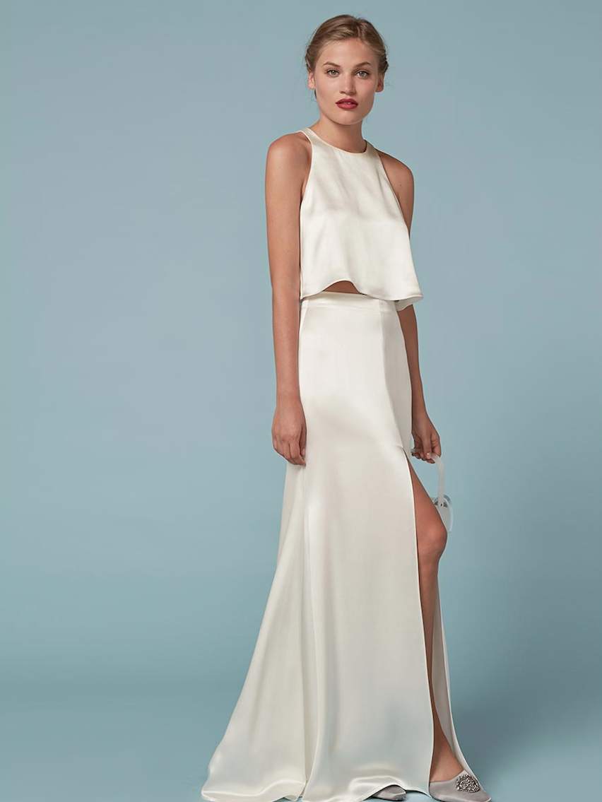 What+Every+It+Girl+Will+Be+Wearing+on+Her+Wedding+Day+via+@ ...
