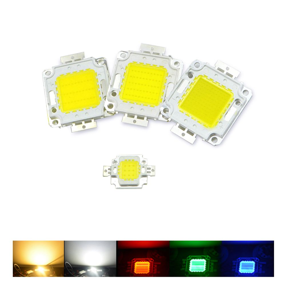 Ampoule E27 Led 100w 10w 20w 30w 50w 100w Rgb Led Light Cob Integrated Diodes Chip Lamp