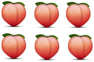 Peach Emoji Pic E1416476829611 Png 360 239 Emoji Pessego The Sims
