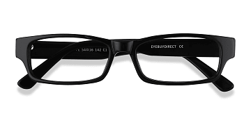 416649bcc8b7 Black Dieppe - Acetate Eyeglasses