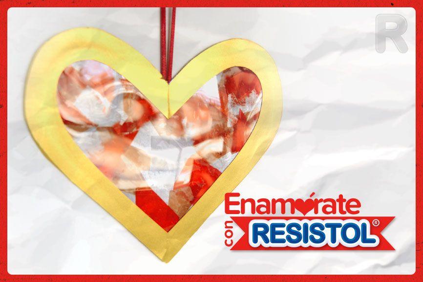 ¡Un hermoso detalle para el Día del Amor y la Amistad! #GomaResistolBlanca #Resistol #Goma #Blanca #MundoResistol