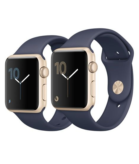 Shop Apple Watch Gold Aluminum In 38mm And 42mm Available In Series 1 Or In Series 2 With Built In Gps Buy Apple Watch Apple Watch Accessories New Apple Watch