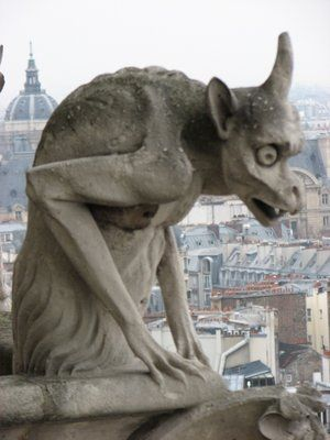 Gargoyle - Monster Wiki - a reason to leave the closet closed and saw the legs off your bed