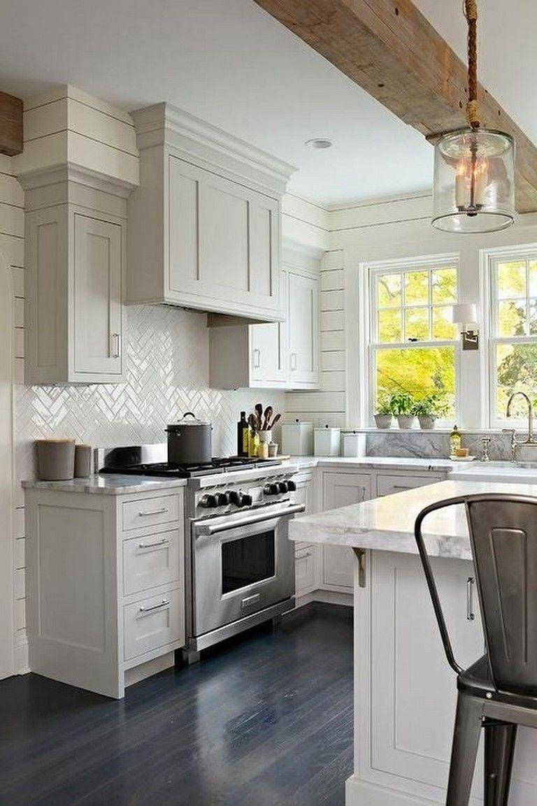 35 stunning modern farmhouse kitchen design ideas to renew your home modern kitchen design on kitchen ideas modern id=89913