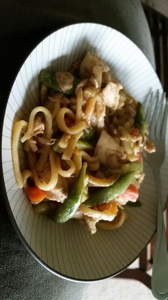 Chicken teriyaki stir fry ♡♡ yes i am a fantastic cook ♡♡