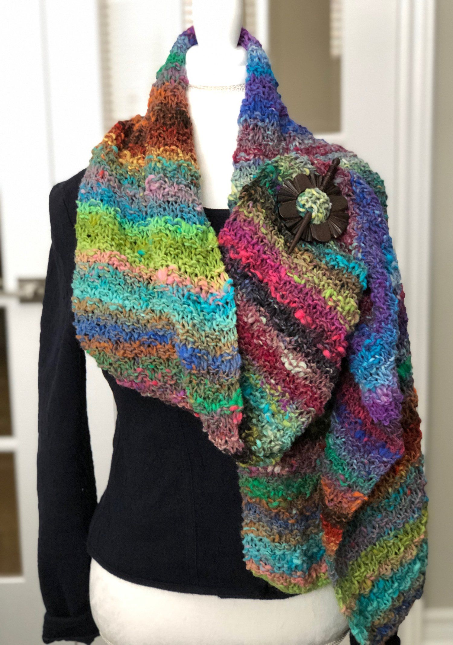 Noro Ito Scarf - Free Pattern | Noro knitting patterns ...