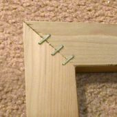 How To Make Your Own Stretcher Bars For A Stretched Canvas