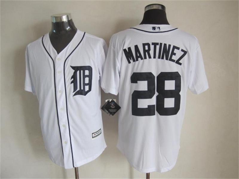 premium selection b01c5 09026 mlb tigers 28 j. d. martinez grey jersey detroit tigers ...