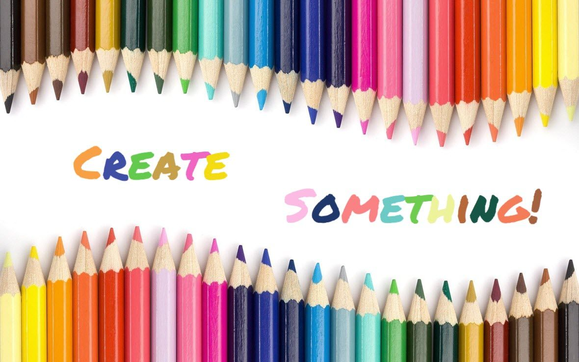 Create Something Sample paper, Pte academic, Color