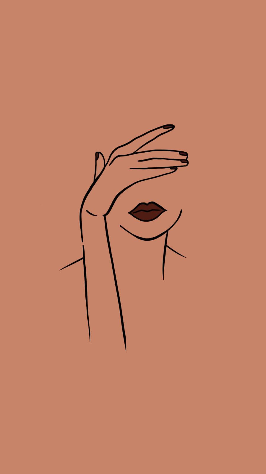 Арт Иллюстрация. Феминистское искусство. Визуал дл