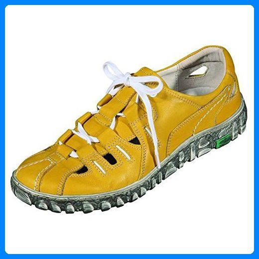 Miccos Shoes Damenschuhe sportlich Nappaleder, Lederfutter, herausnehmbare Lederdecksohle, in grün Miccos
