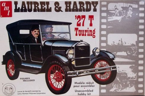 Ford Model T Of Laurel Hardy Movies Scale Model Model Cars