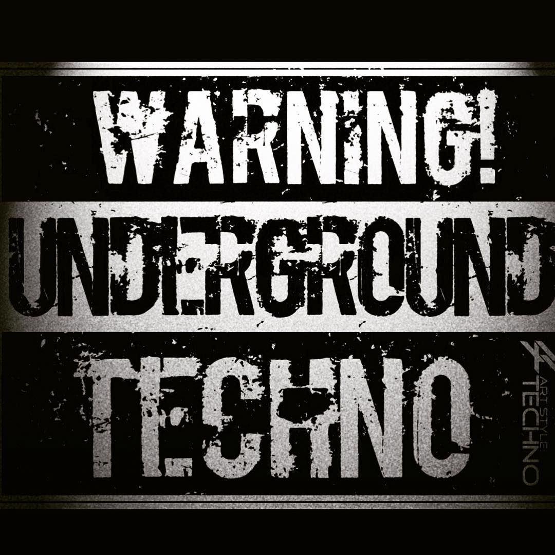Underground T-Shirt Rabe Music Cool Dj Club Tanz House