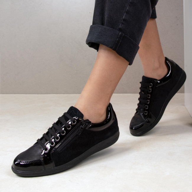 Sneakersy Geox D Nihal A D947la 0pwhh C9999 Black Sneakersy Polbuty Damskie Eobuwie Pl Black All Black Sneakers Sneakers