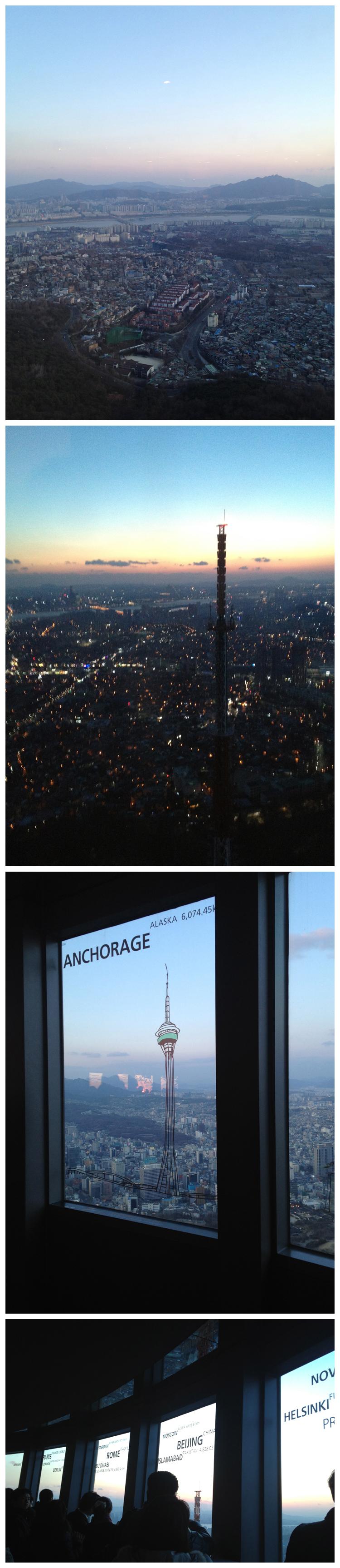 n seoul tower 남산 타워