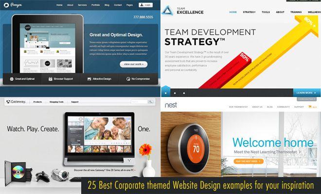 """Attēlu rezultāti vaicājumam """"best corporate website examples"""""""