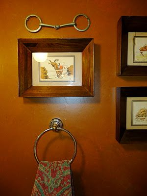 Equestrian Bathroom Ahh Love This So Framing One Of My Horse S Bits For The