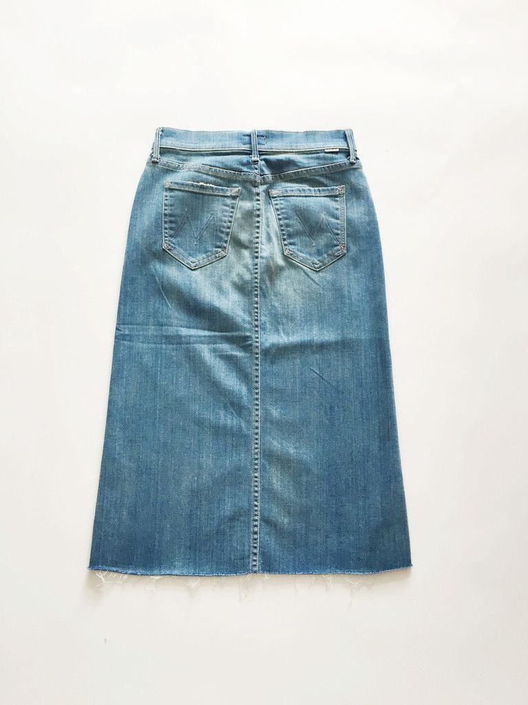 Mother Denim The Easy A Skirt - Welcome to Paradise