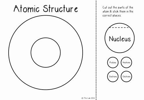 Atomic Structure Worksheet Pdf Beautiful atomic Structure