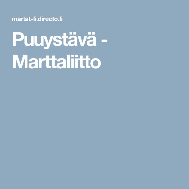 Puuystävä - Marttaliitto