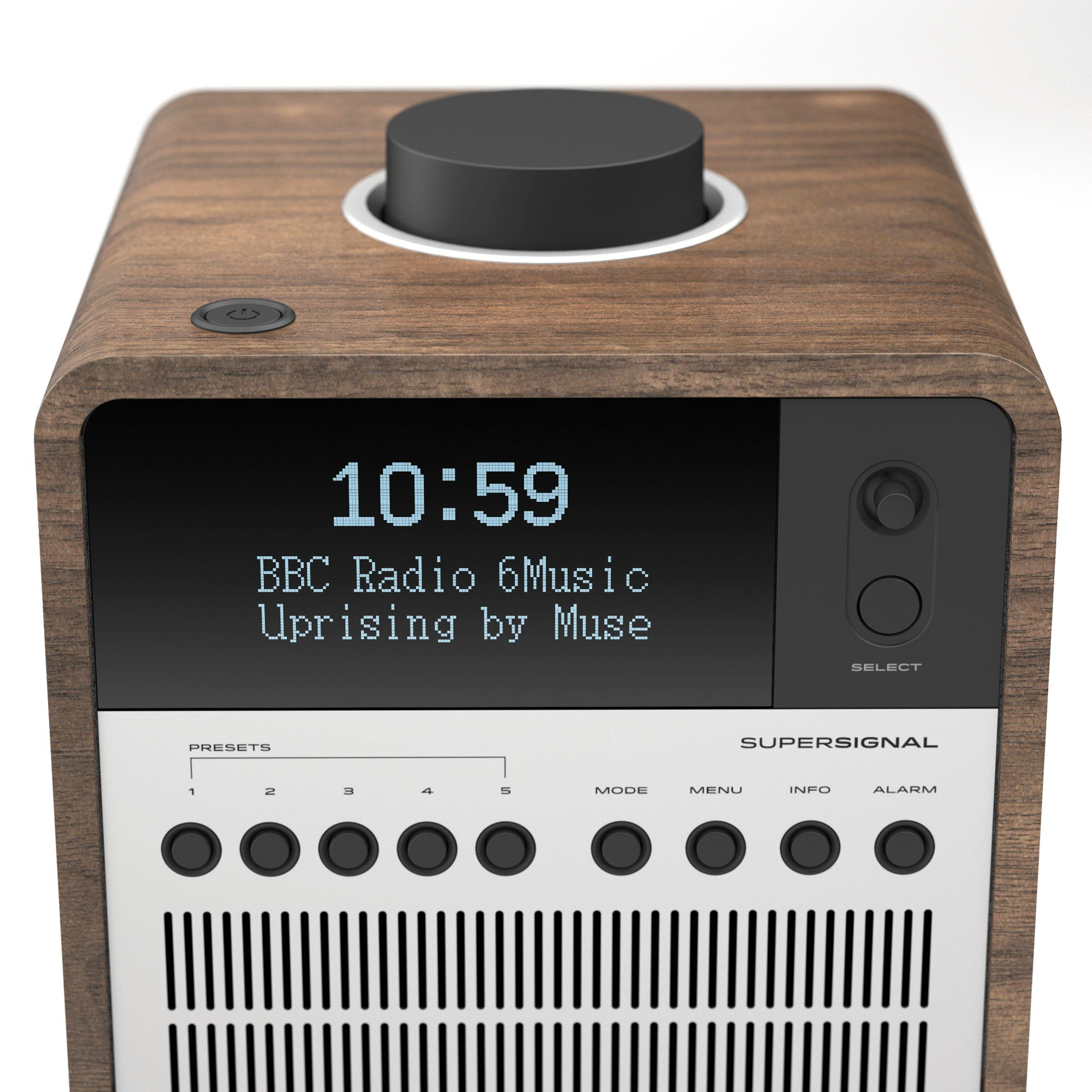 Revo SuperSignal Radio / Connected Speaker - Walnut / Silver   HIFI