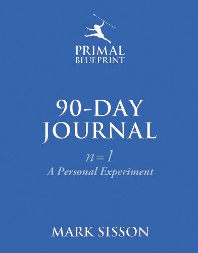 The Primal Blueprint 90-Day Journal A Personal Experiment (nu003d1) by - fresh blueprint primal diet