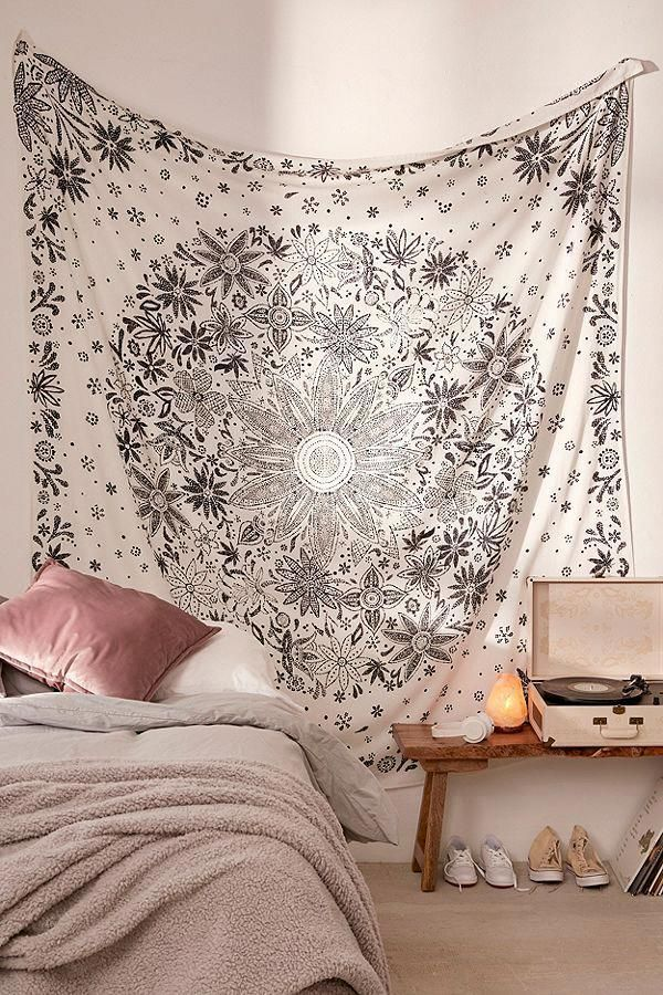 Urban Outfitters Tapestry Pink