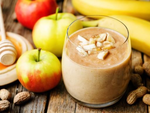 smoothie recette banane pomme
