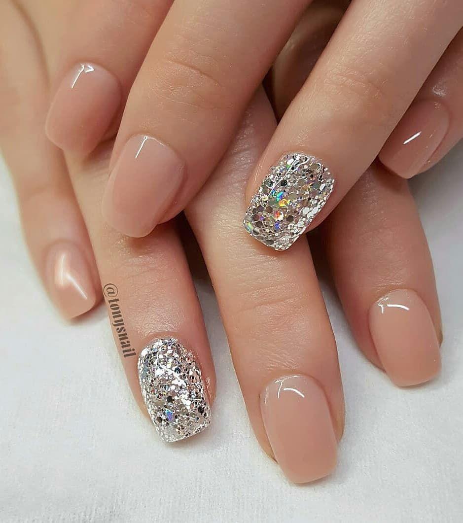 110 Nail Art Designs And Ideas 2020 Natural Wedding Nails Nail