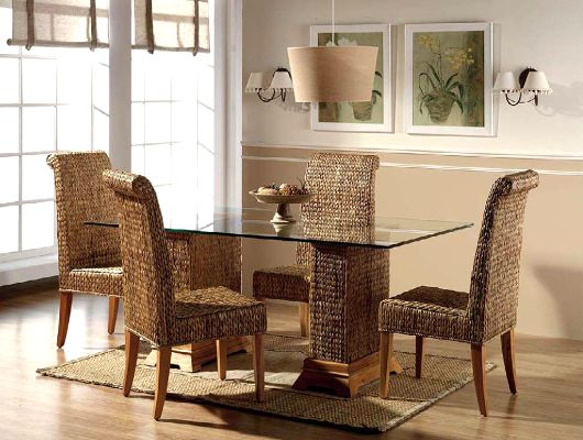 rattan essgruppe rattan stuhl rattan esstisch f r esszimmer esszimmer pinterest. Black Bedroom Furniture Sets. Home Design Ideas
