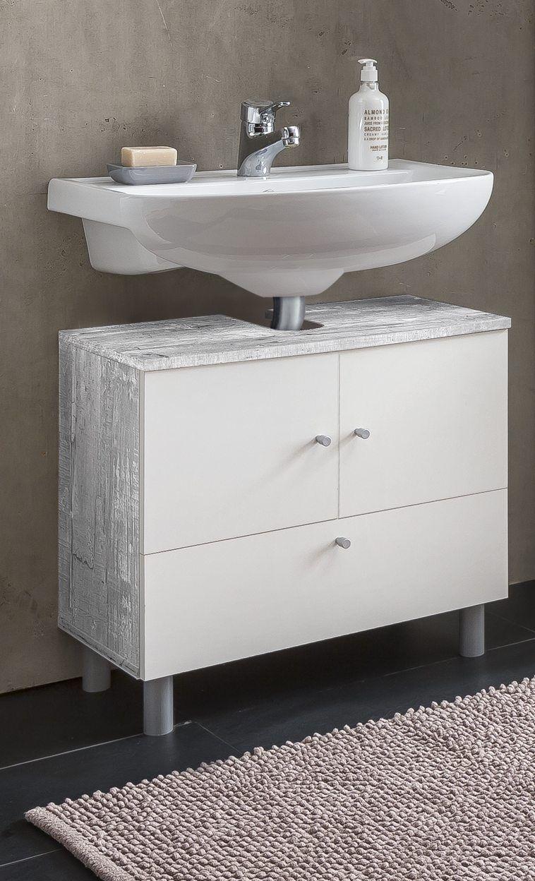Wilmes Waschbecken Unterschrank Simply Badschrank Badmobel Betonoptik Weiss Ebay Bad Waschbecken Mit Unterschrank Waschbecken Unterschrank