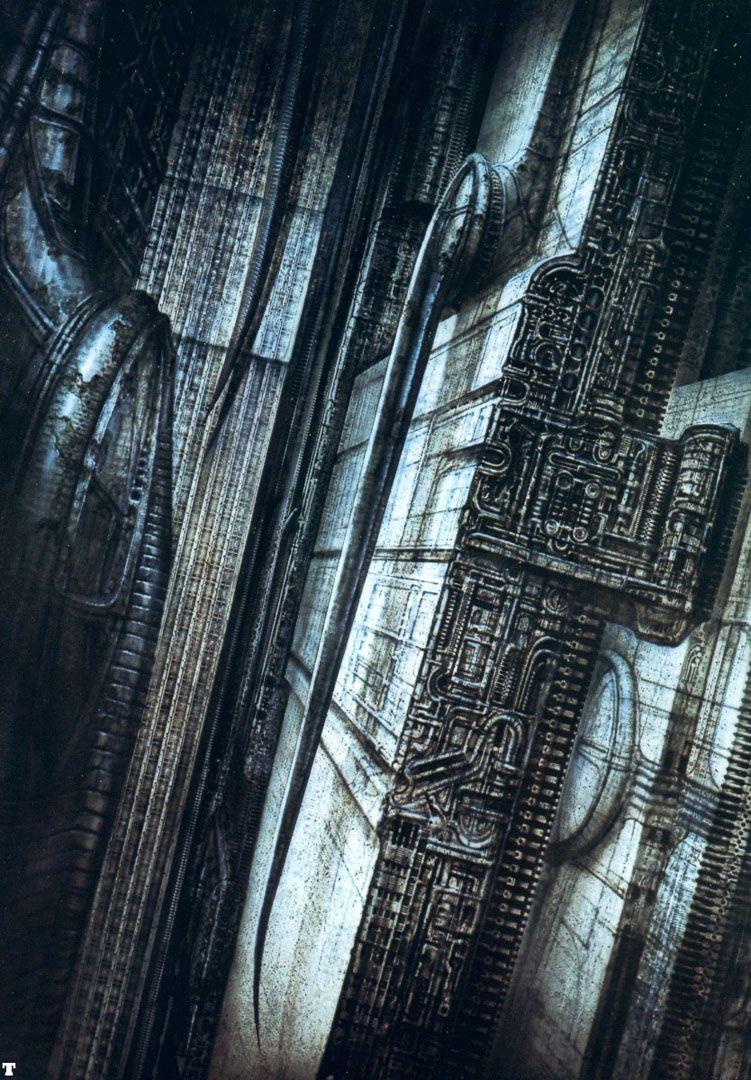 h. r. giger | Newyorkcity Viii - science fiction h r giger wallpaper image | H. R. Giger / Alien ...