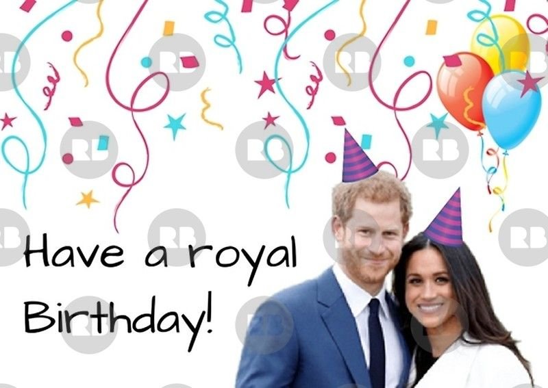 Prince Harry And Meghan Markle Gifts Greeting Card By Willow Days Happy Birthday Funny Humorous Happy Birthday Funny Birthday Humor