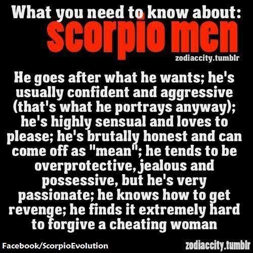 Characteristics of a scorpio man in love