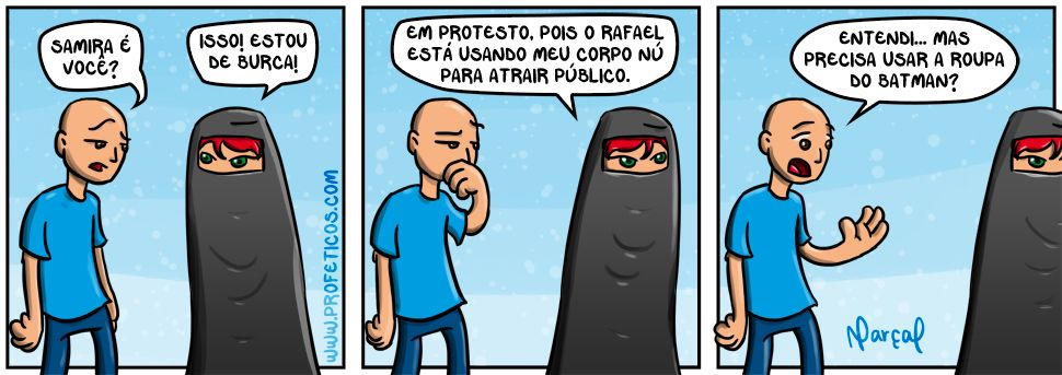 Samira e Paulito em PROTESTO