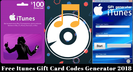 Free Itunes Gift Card Codes Generator 2018 | Latest Hacker