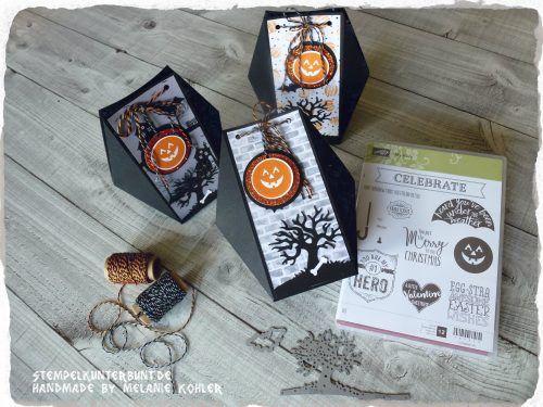 Facettebox Halloween, Bild 5, gebastelt mit Produkten von Stampin`Up!