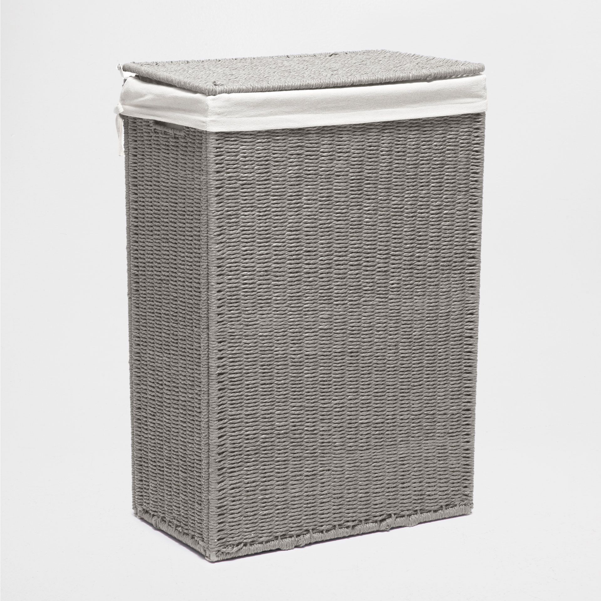 Grey Laundry Basket