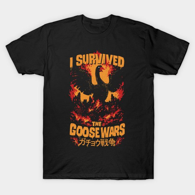 Goose Wars - Untitled Goose Game T-Shirt - The Shirt List