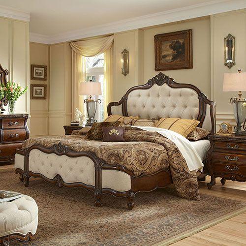 lavelle melange bedroom | michael amini furniture designs | amini