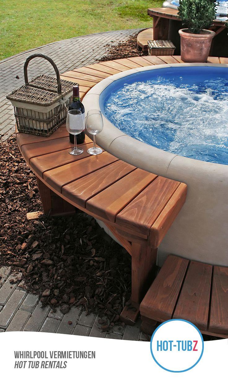 Pin von hot tubz whirlpool vermietung verkauf auf whirlpools im garten wohnung garten - Whirlpool im wintergarten ...