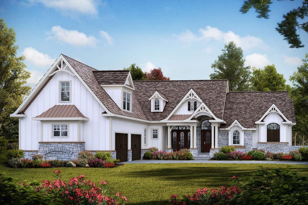 House Plan 699 00163 Craftsman Plan 2 795 Square Feet 3 Bedrooms 3 5 Bathrooms Maine House Craftsman Style House Plans Craftsman House