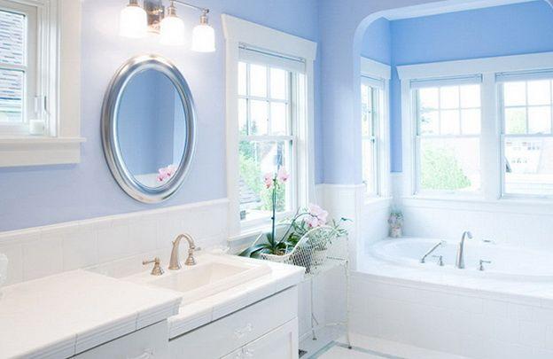 Blue color in the interior HomeKlondikecom Ideas Pinterest