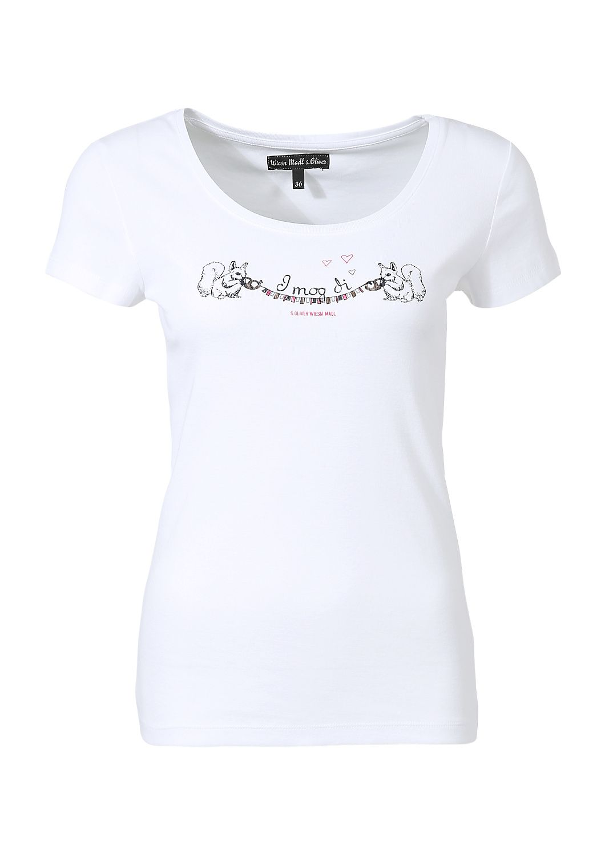 T Shirt Im S Oliver Online Shop Kaufen