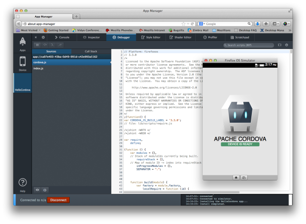 cool Firefox OS taps into Cordova for easier Web-app development