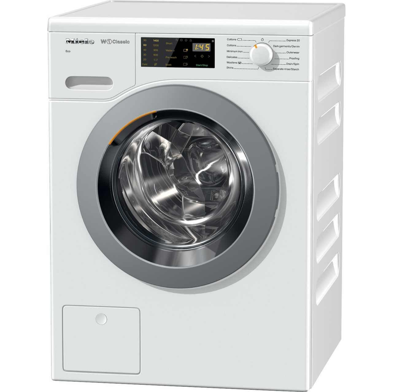 Lave Linge Top Miele Miele W1 Wdb004 7kg Washing Machine With 1400 Rpm White A