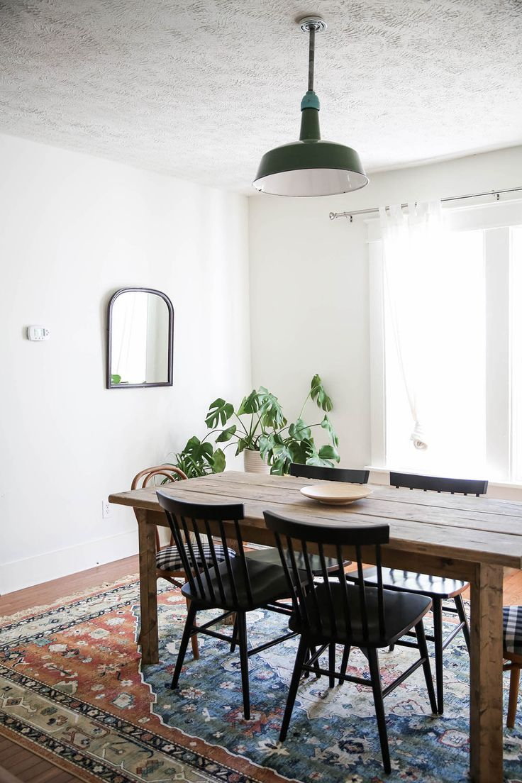 minimal rustic antique home decor, dining room idea, McCarn airbnb ...