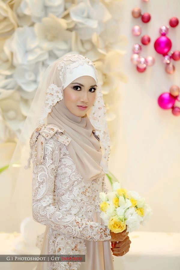 Prada Lace Dress one day..dream wedding dress | Muslimah Wedding ...